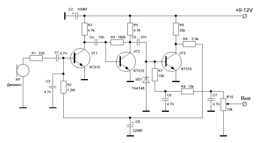 Динамический компрессор -