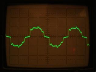 R ellenálláson mért reaktiv áram