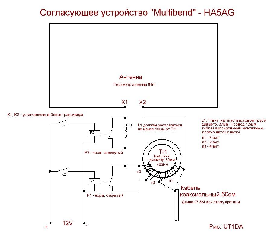 Согласующее устройство HA5AG