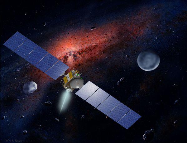 Космический аппарат НАСА Dawn передал первое фото...