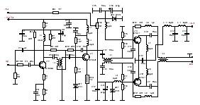 Схема УМ 200 Ватт на тразистрах